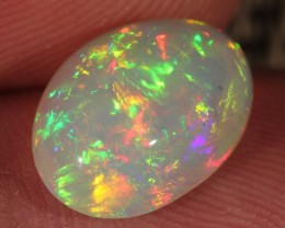 2.82CT~BRILLIANT 5/5 WELO OPAL CAB~FULL SATURATION