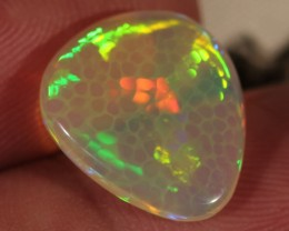 4.31CT~BRILLIANT 5/5 WELO OPAL CAB~HONEYCOMB OPAL