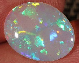 5.41CT~BRILLIANT 5/5 WELO OPAL CAB~DOT PATTERN