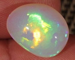8.27CT~BRILLIANT 5/5 WELO OPAL CAB~FLASH FIRE