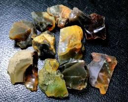 150ct Ethiopian Crystal Opal Rough Specimen Parcel