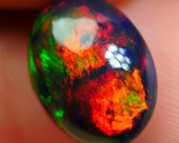 2.30 CRT BRILLIANT BROADFLASH MULTICOLOR FIRE SMOKED WELO OPAL