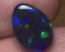 3.93ct Lightning Ridge Black Opal LRS128