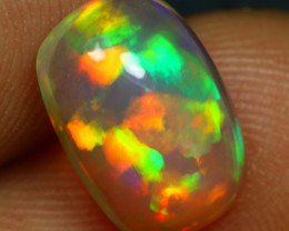 2.40cts Remarkable Colorful Color Play Ethiopian Opal