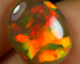 3.65cts AMAZING PUZZLE PATTERN Natural Ethiopian Welo Opal