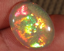 4.92CT~BRILLIANT 5/5 WELO OPAL CAB~HONEYCOMB OPAL