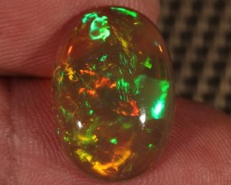6.05CT~BRILLIANT 5/5 WELO OPAL CAB~FULL SATURATION
