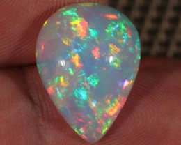 6.37CT~BRILLIANT 5/5 WELO OPAL CAB~FULLY SATURATED