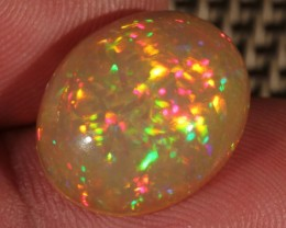 6.61CT~BRILLIANT 5/5 DARK BASE WELO OPAL CAB~CHAFF