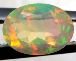 0.50 CTS ETHIOPIAN WELO FACETED OPAL STONE FOB-1247