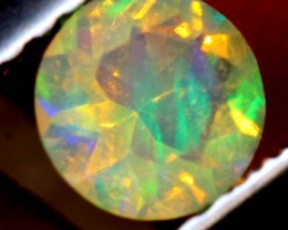 0.30 CTS ETHIOPIAN WELO FACETED OPAL STONE FOB-1252