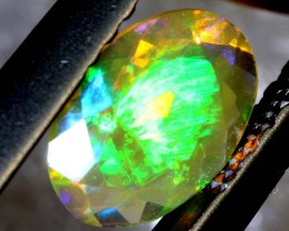 0.40 CTS ETHIOPIAN WELO FACETED OPAL STONE FOB-1257