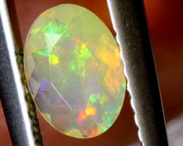 0.30 CTS ETHIOPIAN WELO FACETED OPAL STONE FOB-1258