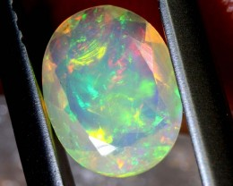 0.65 CTS ETHIOPIAN WELO FACETED OPAL STONE FOB-1259