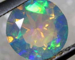 0.50 CTS ETHIOPIAN WELO FACETED OPAL STONE FOB-1260