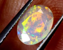 0.30 CTS ETHIOPIAN WELO FACETED OPAL STONE FOB-1261