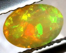 0.15 CTS ETHIOPIAN WELO FACETED OPAL STONE FOB-1270