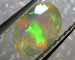 0.35 CTS ETHIOPIAN WELO FACETED OPAL STONE FOB-1278