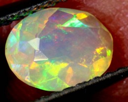 0.40 CTS ETHIOPIAN WELO FACETED OPAL STONE FOB-1283
