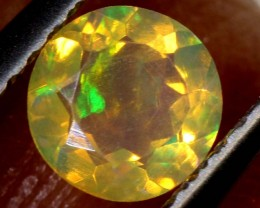 0.30CTS ETHIOPIAN WELO FACETED OPAL STONE FOB-1285