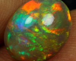 2.55cts ROLL FLASH MULTI FIRE Natural Ethiopian Welo Opal