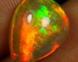 4.75cts TOP BRUSH STROKE Natural Ethiopian Welo Opal