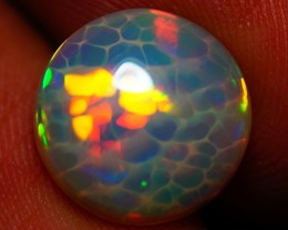 3.00 CT AAA QUALITY 3D HONEY COMB BEAUTIFUL FLASHY ETHIOPIAN OPAL-AC92