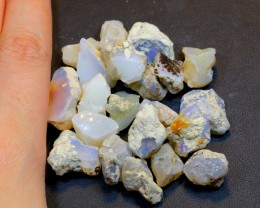 145Ct Welo Opal Rough Wholesale Lot