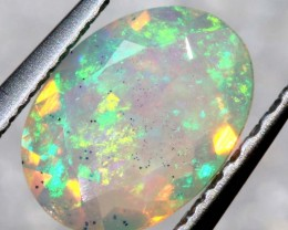 0.40 CTS ETHIOPIAN WELO FACETED OPAL STONE FOB-1304