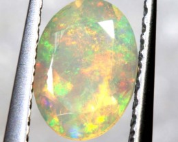 0.55 CTS ETHIOPIAN WELO FACETED OPAL STONE FOB-1303