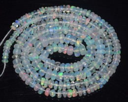 29.85 Ct Natural Ethiopian Welo Opal Beads Play Of Color