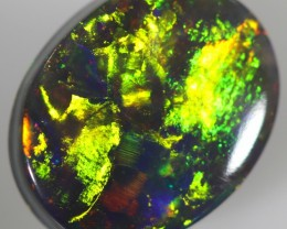 2.80 CTS TOP POLISHED DARK OPAL DOUBLE SIDES[MH4]