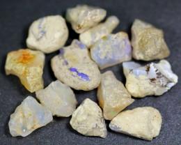 81ct Ethiopian Crystal Opal Rough Specimen Parcel