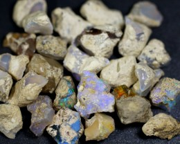 165ct Ethiopian Crystal Opal Rough Specimen Parcel