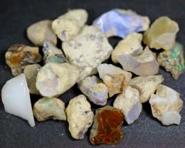 122ct Ethiopian Crystal Opal Rough Specimen Parcel