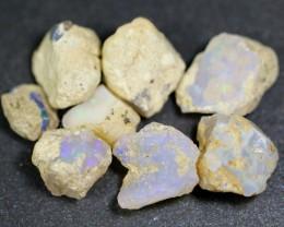 69ct Ethiopian Crystal Opal Rough Specimen Parcel