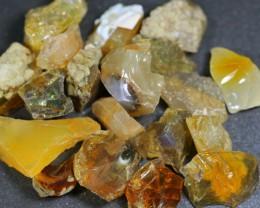 282ct Ethiopian Crystal Opal Rough Specimen Parcel