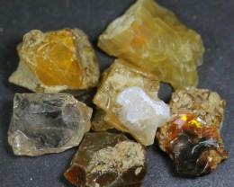 284ct Ethiopian Crystal Opal Rough Specimen Parcel