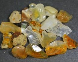 186ct Ethiopian Crystal Opal Rough Specimen Parcel
