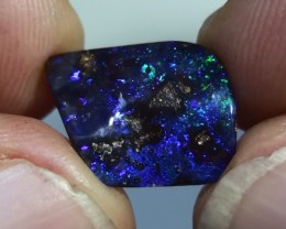4.55 ct Boulder Opal Natural Gem Blue Green Color
