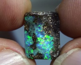 4.65 ct Boulder Opal With Beautiful Gem Multi Color
