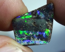 5.50 ct Boulder Opal With Beautiful Gem Multi Color