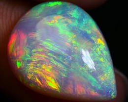 5.80 CRT WONDERFUL 3D CHAFF PATTERN DELUXE GOLDEN WELO OPAL