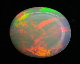 3.7 ct Great Flash Ethiopian Opal Cabochon SKU.3