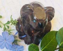 .467 kilo Australian Koala carving PPP 2034