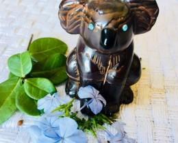 .407 kilo Cute Australian Koala Carving PPP 2043