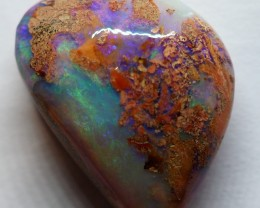 11.90CT VIEW WOOD REPLACEMENT BOULDER OPAL RI101