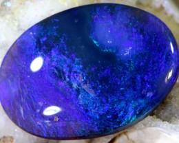 7.40 CTS N2 QUALITY BLACK SOLID OPAL LIGHTNINGRIDGE INV-920