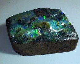 625 ct Boulder Opal Show Piece With Gem Multi Color *