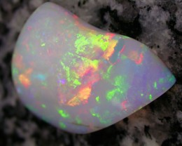 16.42ct EXTR BRIGHT RAINBOW COLORS VERY 3D 2-SIDED OPAL